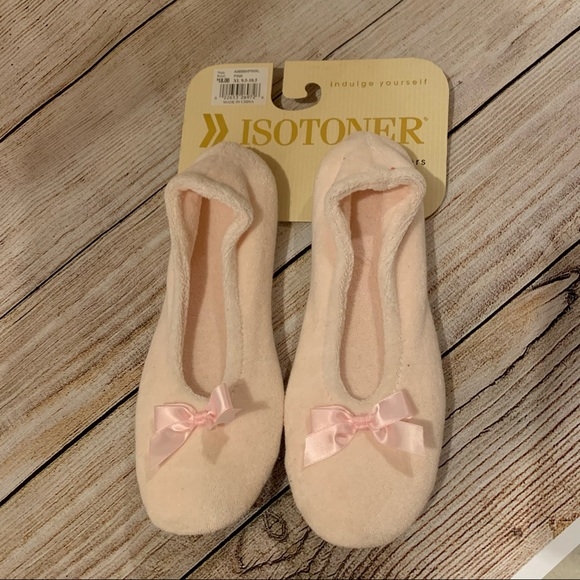 Isotoner Pink Slippers